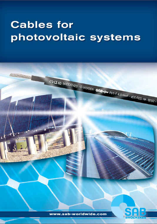 Cables for Photovoltaic Systems